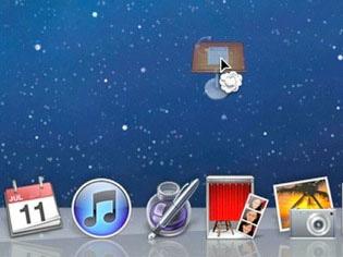 如何在 Mac OS X 的 Dock 栏添加空格
