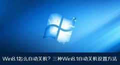 分享Windows8.1自动关机3种设置方法
