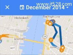 谷歌地图新添时间轴功能 可查看任意一天去过何处