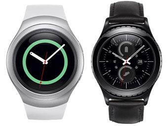 三星发布首款圆形智能手表Gear S2 挑战苹果与谷歌