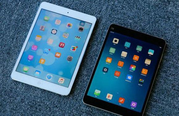 小米平板2和ipad mini 2开箱对比