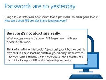 Windows 10的PIN密码介绍与设置方法