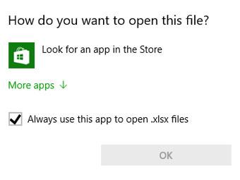 """怎么关闭Windows 10""""在商店中查找应用""""提示?"""