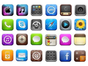 让iPhone主屏中的应用图标都动起来的方法