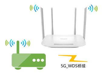 TP-Link路由器TL-WDR5600 V1.0无线桥接5G无线网络如何设置