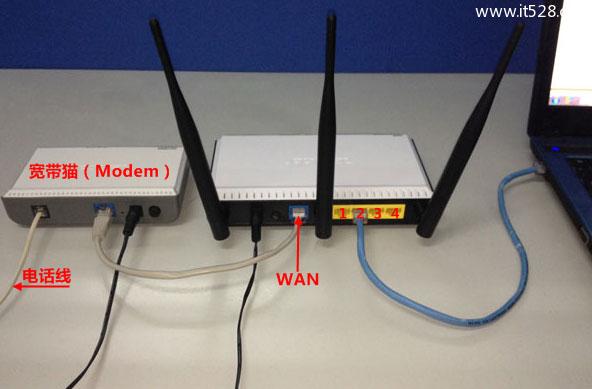 如何进入无线路由器设置界面的方法