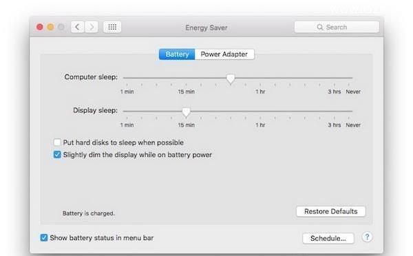 提高笔记本电池寿命的几个简单解决方法