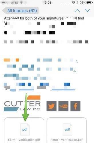 iPhone或iPad上邮件的附件如何存到iCloud Drive