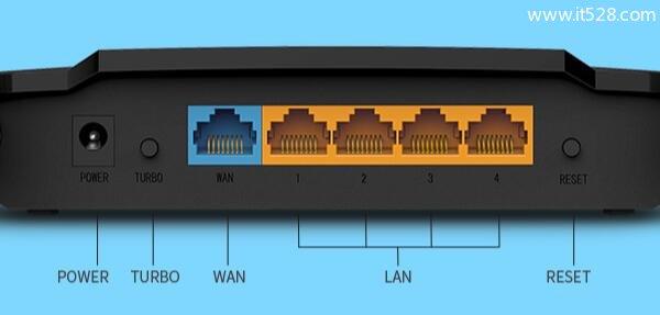 水星MW310R路由器恢复出厂设置方法