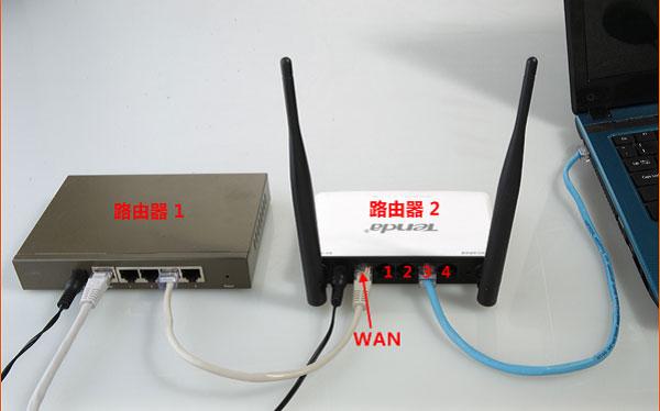 双路由器上网的连接和设置方法