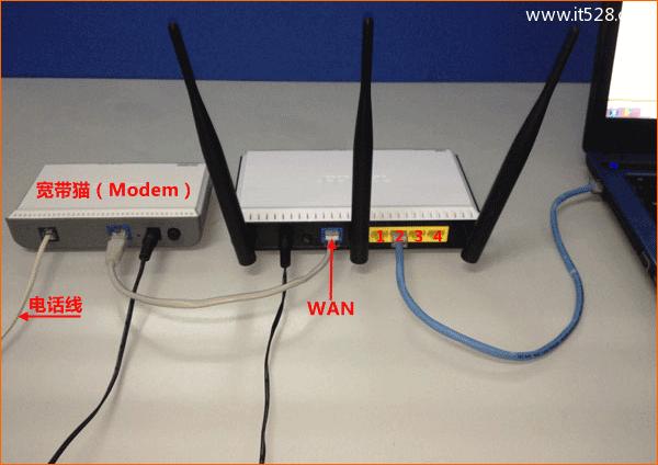 腾达(Tenda)FH305路由器设置上网的方法