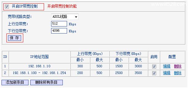 TP-Link TL-WR845N路由器限制网速(IP宽带控制)设置上网