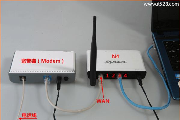 腾达(Tenda)N4无线路由器ADSL拨号设置上网