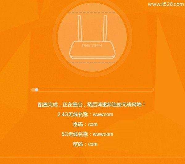 斐讯(PHICOMM)k2路由器上网图文设置方法