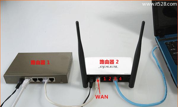 家里安装两个路由器的上网设置方法
