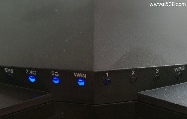 腾达路由器LAN接口灯不亮的解决方法