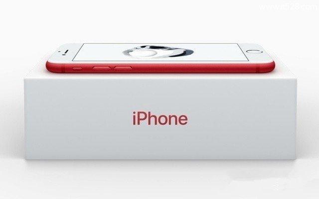 苹果iPhone 7手机红色特别版与普通版的区别是什么?