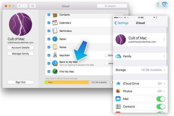 iPhone手机复制的内容粘贴到Mac的方法