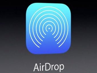 iPhone苹果手机使用AirDrop功能传送照片方法