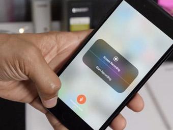 iPhone手机iOS 11增加的录屏功能使用方法